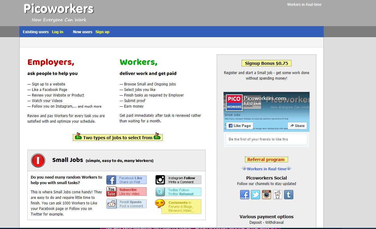 how to make money online without paying anything picworkers
