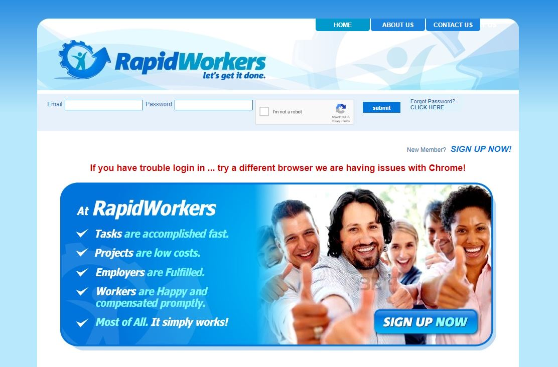 how to make money online without paying anything rapid workers