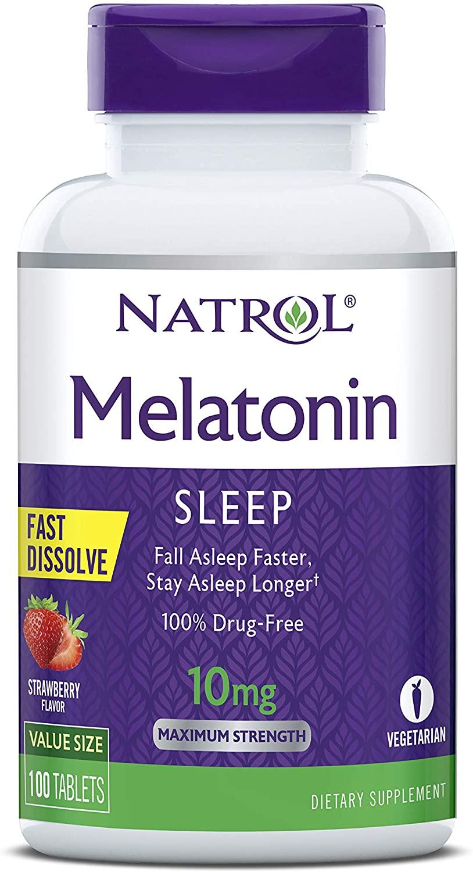 Bedtime Routine For Better Sleep Natrol Melatonin Fast Dissolve Tablets 1